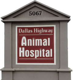 Dallas Highway Animal Hospital Sign